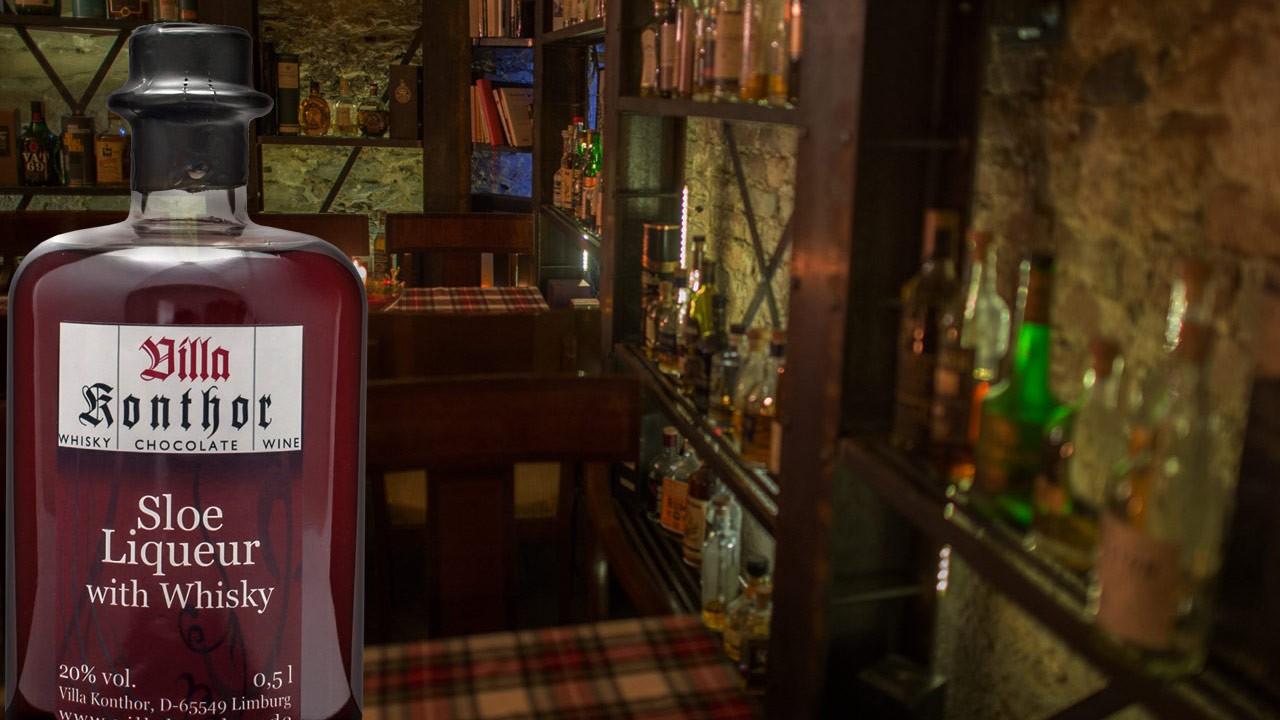 Blog Tasting Villa Konthor Sloe Liqueur with Whisky