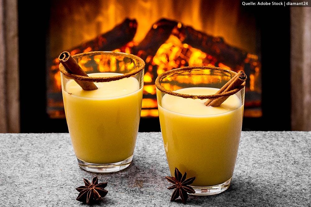 Heiße Cocktails im Winter